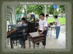 School furniture donated from Singaporeschools