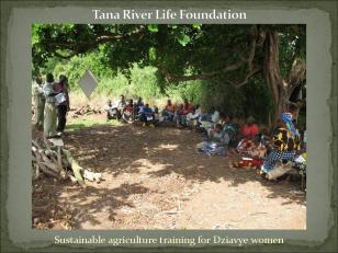 Sustainable agriculture training for Dziavye women