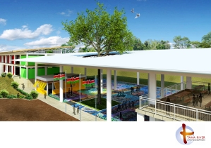 Artist Impression of Education Centre Project