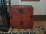 Lightly used Chinese chest. View #1