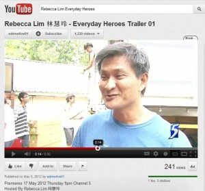 """Gabriel featured in """"Everyday Heroes Trailer"""""""