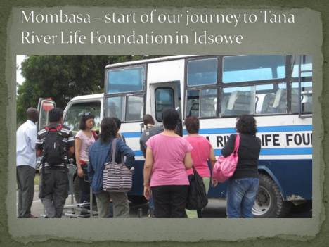 Mombasa – start of our journey to Tana River Life Foundation in Idsowe