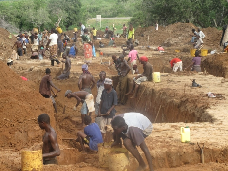 ECP Phase 1 Construction - Involving the local community in and around Idsowe