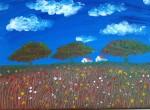25*35cm Oil & Acrylic by Kimberley Pang - age 17 $280