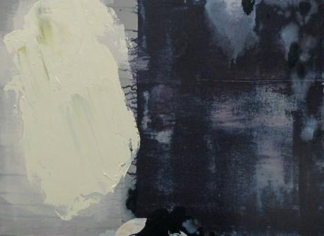 Purple_Grey No.1 by Luke Heng - SOLD !