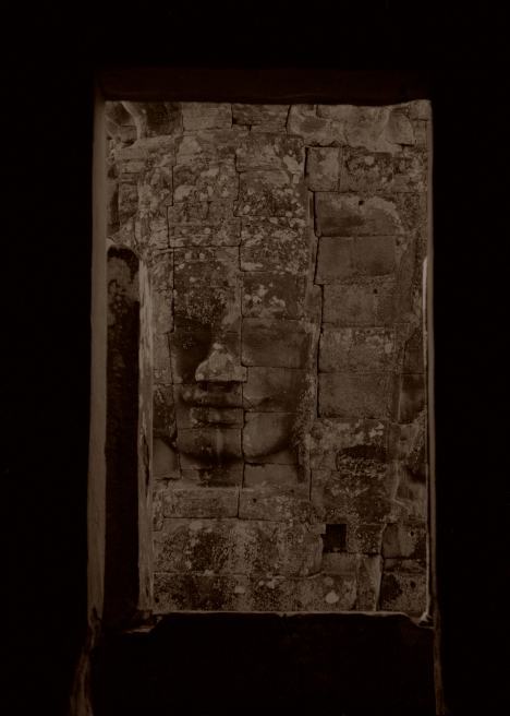 Bayon Temple, Angkor by Russel Wong