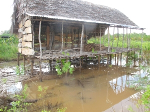 Flood damage - Tana River 2013