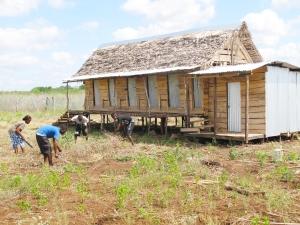 Repaired farmhouse - Oct 2013