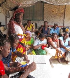 Mitumba beneficiaries and volunteers